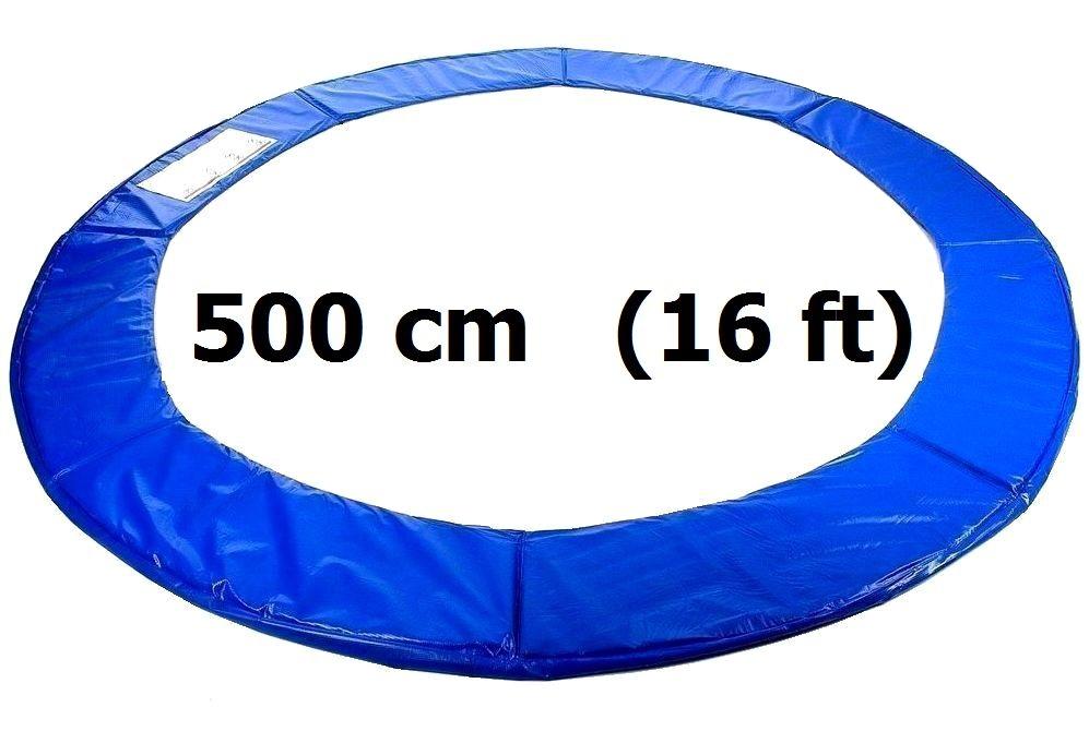 kryt pru in na trampol nu 500 cm 16 ft modr skluzavky na zahradu. Black Bedroom Furniture Sets. Home Design Ideas