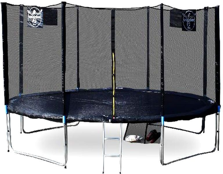 trampol ny trampol na chiemsee 430 cm 14 ft superset ern skluzavky na zahradu. Black Bedroom Furniture Sets. Home Design Ideas